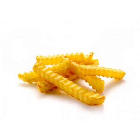 Frites kreukel 4x2,5 kg.